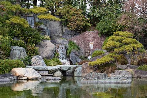 大仙公園 日本庭園