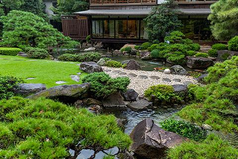 松田屋ホテル庭園