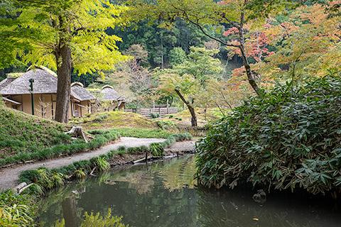 西山御殿(西山荘)
