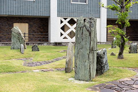 鳥取県庁舎庭園